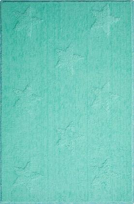 Коврик для ванной 65x115см мятный Grund Starlets 2606.37.6021