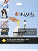 Пакет для мусора 3л пластиковый, размер A, 60шт Brabantia 348983