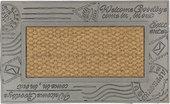 Коврик придверный 45х75см WELCOME конверт, кокос/резина Golze COCO FAME 543-30-04