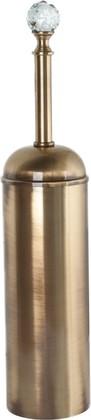 Ёрш для туалета настенный, бронза с кристаллом swarovski TW Crystal TWCR220br-sw
