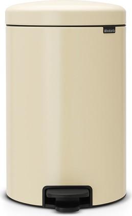 Мусорный бак с педалью 20л, миндальный Brabantia Newicon 113901