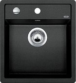 Кухонная мойка Blanco Dalago 45, без крыла, с клапаном-автоматом, гранит, антрацит 517156