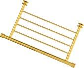 Полка для полотенец Сунержа 370, для полотенцесушителя, золото 03-2012-4370