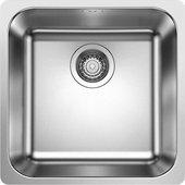 Кухонная мойка Blanco Supra 400-IF, полированная сталь 523356