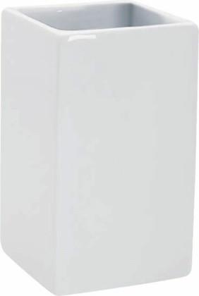 Стакан для зубных щёток Spirella Quadro, белый 1000152