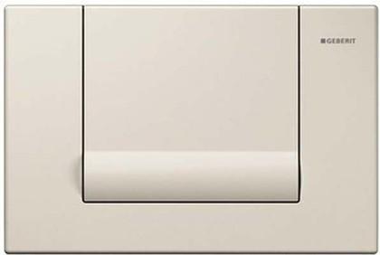 Смывная металлическая клавиша для одинарного смыва, цвет сатинокс Geberit Tango 115.760.GM.1