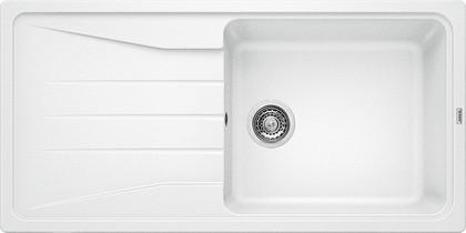 Кухонная мойка оборачиваемая с крылом, гранит, белый Blanco Sona XL 6 S 519692