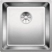 Кухонная мойка Blanco Andano 400-U, отводная арматура, полированная сталь 522959