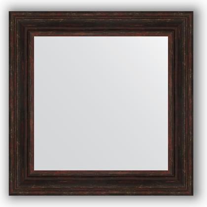 Зеркало в багетной раме 72x72см темный прованс 99мм Evoform BY 3158