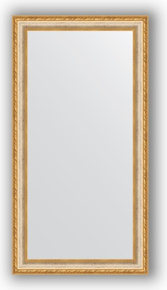 Зеркало в багетной раме 55x105см версаль кракелюр 64мм Evoform BY 3077