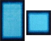 Набор ковриков для ванной Grund Avalon, 60x100см, 50x60см, полиакрил, синий b3623-16184/60184