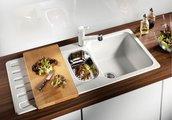 Кухонная мойка оборачиваемая с крылом, гранит, кофе Blanco Nova 6 S 515022