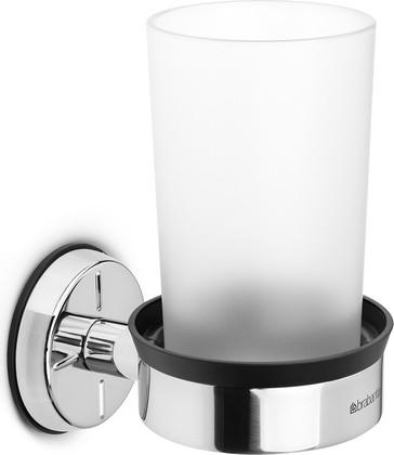 Держатель-подстаканник на 1 стакан, полированная сталь Brabantia 427480