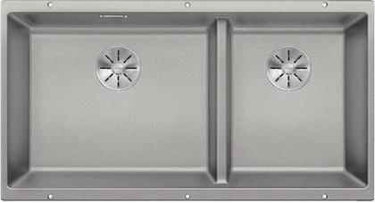 Кухонная мойка Blanco Subline 480/320-U, отводная арматура, жемчужный 523587
