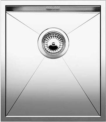 Кухонная мойка без крыла, нержавеющая сталь зеркальной полировки Blanco Zerox 340-U 517239