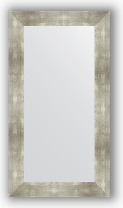 Зеркало в багетной раме 60x110см алюминий 90мм Evoform BY 3090