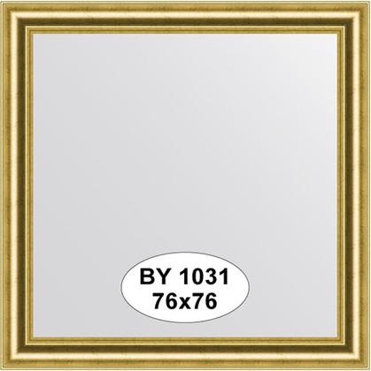 Зеркало 76x76см в багетной раме старое золото Evoform BY 1031