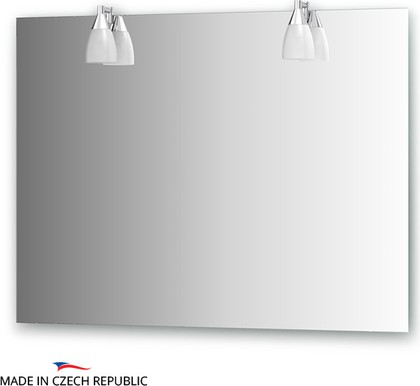 Зеркало со светильниками 100x75см Ellux ROM-A2 0213