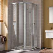 Душевой уголок Kermi Cada XS CK R50, 90x90см, раздвижные двери, прозрачное стекло CKR5009020VPK