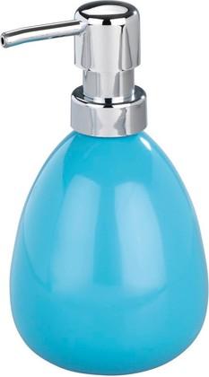 Ёмкость для жидкого мыла голубая Wenko Polaris 19442233