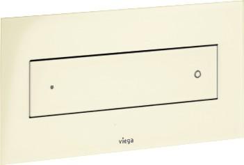 Кнопка смыва для унитаза пластиковая, пергамон / камея Viega Visign for Style 12 597269
