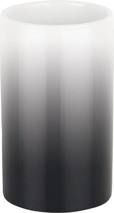 Стакан фарфоровый чёрный Spirella Tube Gradient 1017952