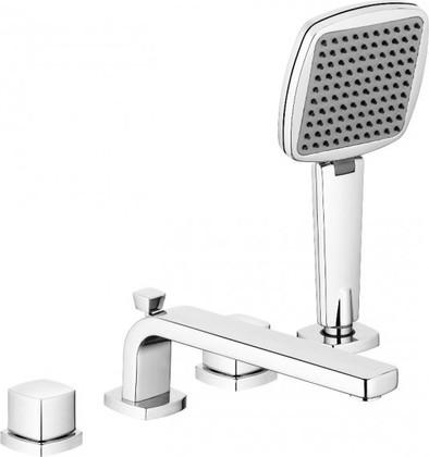 Смеситель вентильный на 4 отверстия для ванны, хром Kludi Q-BEO 504240565