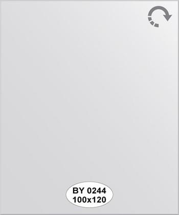 Зеркало 100x120см с фацетом 5мм Evoform BY 0244