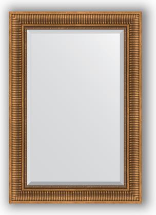 Зеркало с фацетом в багетной раме 67x97см бронзовый акведук 93мм Evoform BY 3440