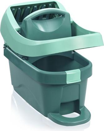 Ведро для мытья полов с отжимом Leifheit Wiper Cover Press Profi (with rolls) 55076