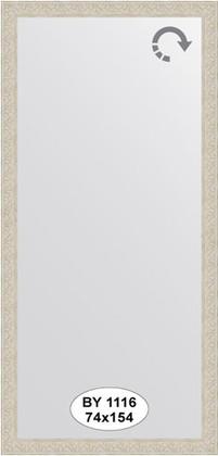 Зеркало 74x154см в багетной раме белёный дуб Evoform BY 1116