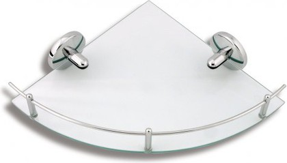 Полка для ванной угловая с ограждением Novaservis 6158.0