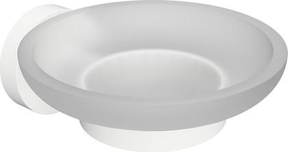 Мыльница Bemeta White стеклянная, белая 104108044