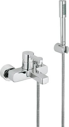 Смеситель однорычажный для ванны с изливом и душевым гарнитуром, хром Grohe LINEARE 33850000