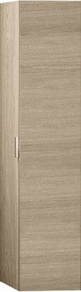 Высокий шкаф-пенал, петли справа, шпон дуба Keuco EDITION 11 31331440002