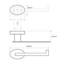 Держатель туалетной бумаги без крышки, хром Bemeta Oval 118412021