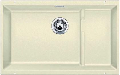 Кухонная мойка без крыла, с клапаном-автоматом, гранит, жасмин Blanco Subline 700-U Level 518394