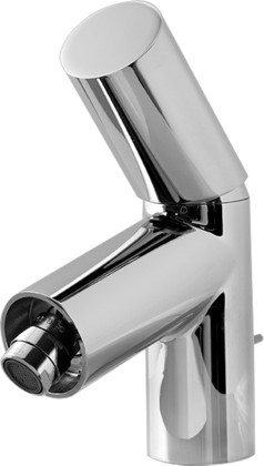 Смеситель для биде однорычажный с донным клапаном и с шарнирным аэратором, хром Oras IL BAGNO ALESSI Dot 8618F