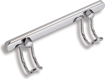 Крючок двойной хром Novaservis 6056.0
