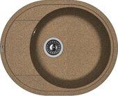 Кухонная мойка Florentina Родос, 580x470мм, коричневый 20.240.B0580.105