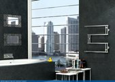 """Полотенцесушитель 320x650 водяной Сунержа High-Tech Model """"G"""" 00-0051-3265"""