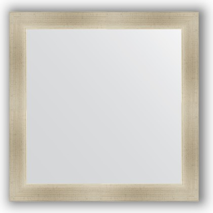 Зеркало 64x64см в багетной раме травлёное серебро Evoform BY 0615