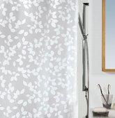 Штора для ванны 180x200см белая Spirella BLATT 1008183
