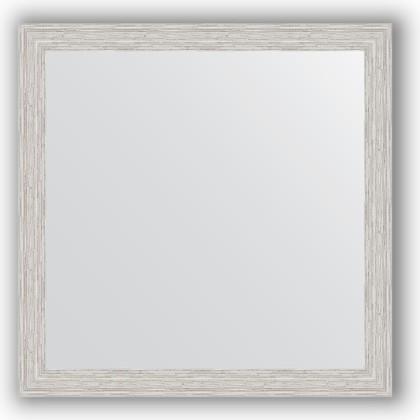 Зеркало в багетной раме 61x61см серебряный дождь 46мм Evoform BY 3133