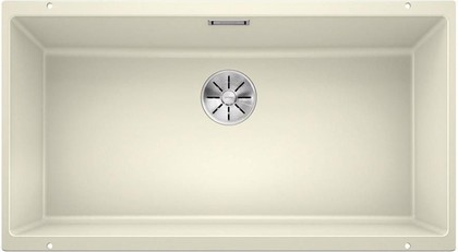Кухонная мойка Blanco Subline 800-U, отводная арматура, жасмин 523146
