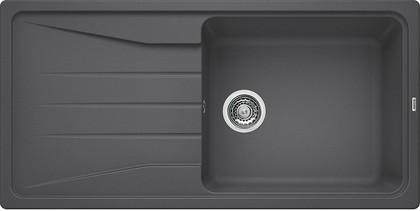 Кухонная мойка оборачиваемая с крылом, гранит, тёмная скала Blanco Sona XL 6 S 519690