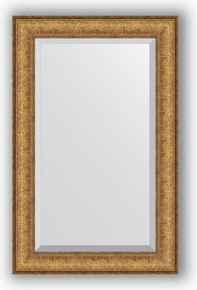 Зеркало 54x84см с фацетом 30мм в багетной раме медный эльдорадо Evoform BY 1233