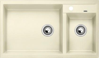 Кухонная мойка основная чаша слева, без крыла, гранит, жасмин Blanco Metra 9 513270