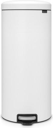Мусорный бак с педалью 30л, минерально-белый Brabantia Newicon 114588