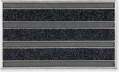 Коврик придверный Golze Ribber Pin, 45x75, чёрный 482-30-00